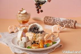 泰奶控一口被征服!Café del SOL推出「手標泰式奶茶舒芙蕾」套餐,加碼「泰式熊熊奶茶」讓泰奶控拍不停。