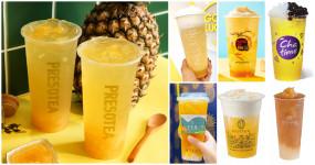 喝爆台灣鳳梨!飲料控狂推7大品牌、15款「台灣鳳梨手搖杯」力挺果農,再加碼「鳳梨飲料買一送一、買飲料送鳳梨」讓飲料控天天開喝。