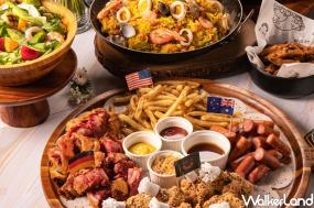 你奪金牌、我請客!金色三麥挺台灣體壇英雄推出「經典大拼盤外帶自取半價」優惠活動,在家也可以享受金色三麥應援的經典美味。
