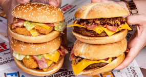 漢堡王嘉義一號店來了!最強火烤牛肉堡「漢堡王」終於插旗嘉義,「買一送一回客券、3倍厚勁濃安格斯牛肉堡」開幕優惠嘉義人跟上。