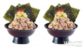 挑戰最浮誇燒肉丼稱號!牛角次男坊首推「鹽醬」系列燒肉丼,浮誇「肉肉山」搶攻肉肉控的胃。