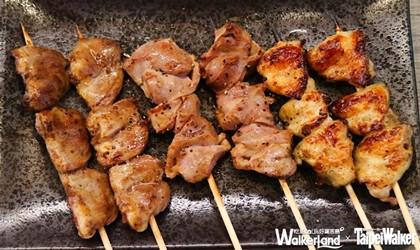 豚豚拍子.請您免費吃八品串燒一份!