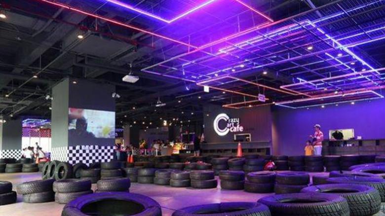 台北市內湖區 Crazy Cart Café甩尾卡丁車主題式餐廳65