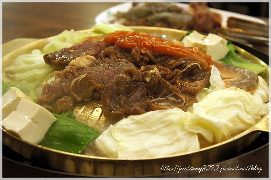 台北市大安區 韓江館銅盤烤肉