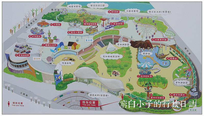 【台北】台北兒童新樂園,13項遊樂設施全攻略.文末附票價交通.捷運士林站