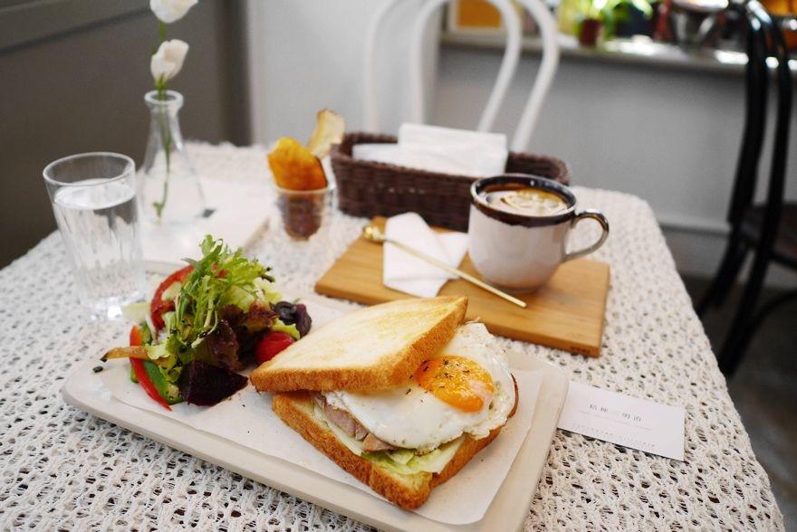 【台北】大安 桔梗三明治 優雅浪漫的歐式早午餐‧輕食‧三明治‧咖啡廳♥♥♥ - WalkerLand窩客島