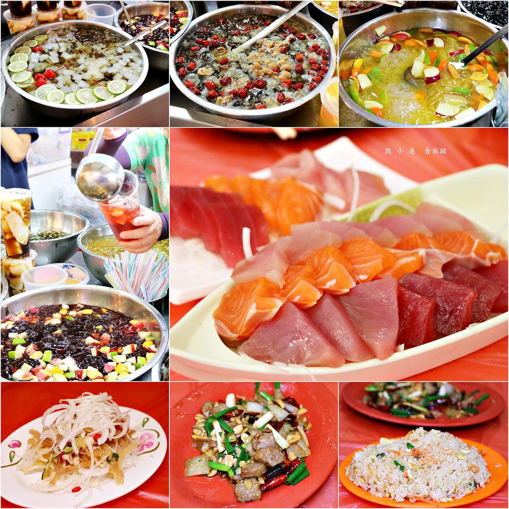 【屏東‧東港】統冠海鮮‧東港華僑市場新鮮生魚片 現點現炒代客料理