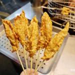 美食/攤販/台式小吃炸蛋旗魚黑輪
