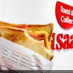 美食/攤販/異國小吃Issac Toast & Coffee 愛時刻韓國奶油吐司專賣 新竹南大店