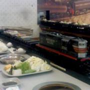 來看小火車吃素食小火鍋