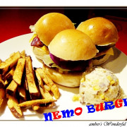 ✜美式漢堡✜每個漢堡都是巨無霸好嚇人!!☛尼莫漢堡 NEMO BURGER