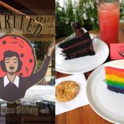 台中西區│Spirited-漂亮混血姊妹開的美式復古風格餅乾甜點專賣店,近美術館 - 藍色起士的美食主義