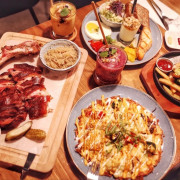  台北 x Schumanns Bistro No. 6舒曼六號餐館南京店 好吃德國脆皮香嫩豬腳、健身者低碳高蛋白餐,隱身巷弄德式美味早午餐。