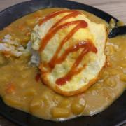 「新北板橋吃喝」好吃咖喱蛋包飯再一發@文化小吃
