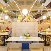 高雄吃到飽︱福華大飯店麗香苑 新升級網美用餐空間,午餐自助吧也可以吃得很時尚!