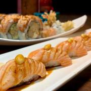 太春日本料理|漁港直送海鮮!創意毛毛蟲壽司!鮭魚香氣逼人的火烤鮭握壽司!台北小巨蛋日本料理美食推薦