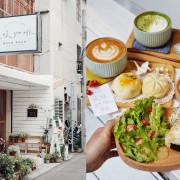 【暖暖咖啡 NUAN NUAN】新竹咖啡廳。新開幕。必點手工麵包還有小清新的日式飯糰套餐!