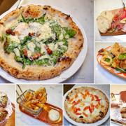 吃。台北信義《薩朵拿坡里披薩餐廳》南義手工窯烤披薩,最道地的拿坡里口味。信義區義式料理推薦