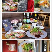 台南美食-光影新歐陸料理 高質感義法創意料理丨30人包廂團體聚餐空間限定