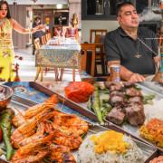 肚皮舞餐廳|1001 Nights Kitchen (一千零一夜廚房)  台北主題餐廳、水煙餐廰、正統中東料理、穆斯林回教可食用的清真認證牛羊肉