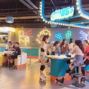 懷舊冰宮回來啦!全台首創互動科技四輪溜冰場,超多網美打卡熱點,還有KTV練歌房