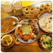 南京復興印度料理推薦 異國美食 印渡風情-慶城店 不論裝潢餐點真的處處充滿異國風的道地印度料理餐廳