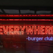 EVERYWHERE  BUGER  CLUB 漢堡俱樂部 國父紀念館好吃漢堡  有名的漢堡餐車有店面囉!