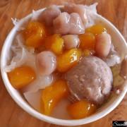 高雄美食|阿嬤ㄟ蕃薯圓天然手作甜品,手炒糖布丁超美味 左營美食