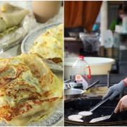 台南美食【良友刀削蜜豆冰(早餐)】~傳統粉漿蛋餅,親切態度迎接每一位客人