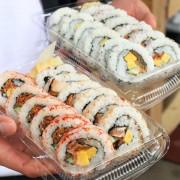 WE SHUSI壽司寶好吃壽司。WEE老闆的文青行動小餐車,以在地食材,翻轉日式花壽司的創意美味(新竹行動餐車)