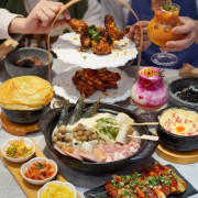 台北東區巷弄新開幕韓式料理『饗韓 食尚韓食』,免費韓服體驗、網美打卡牆讓你拍個夠,喜愛韓式料理的朋友又多一個選擇啦! - 阿華田的美食日記