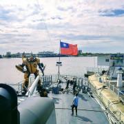 【旅遊】安平「德陽艦」當船長!鋼鐵機器人陪你飆科幻、玩穿越