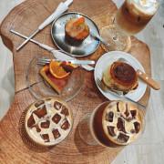 桃園青埔-簡約韓系風下午茶店‧nous coffee我們咖啡(外帶咖啡/手作烘焙)