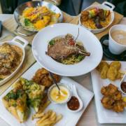 桃園楊梅美食-NU PASTA楊梅店,不只餐點美味還有專屬兒童遊戲區喔