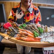 [林口美食]藏王極上鍋物-林口店/狂!航空母艦級超大海鮮船外加重磅日本A5和牛! - 大手牽小手。玩樂趣