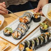 東區平價韓式料理,炸蝦、韓式炸雞都放到紫菜包飯裡-宴先韓式紫菜包飯