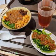 [食]台中 獨門功夫肉醬 香氣四溢 清爽開胃 麗寶outlet 2F / D區 / 二期 龍來食堂