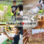 宜蘭最新互動農場【心花鹿FUN (宜鹿發)】超人氣療癒系「草泥馬」首度進駐宜蘭!還有駱馬、梅花鹿、巴貝多綿羊、天竺鼠、兔子、鸚鵡~等你一起玩唷!