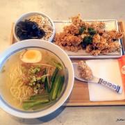 (大直美食)「玉女號魯肉飯ATT大直店」--- 鹹香爽脆風味獨特的「無骨鹽酥雞切仔麵佐黑木耳乾絲雙拼」
