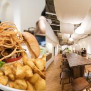 Waku Waku Burger 超強視覺效果『炸洋蔥富士山漢堡』,誠品生活南西店