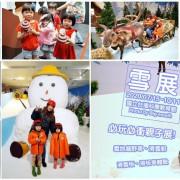 【台北士林科教館】雪展.10多種雪地體驗,親子互動,免出國也能玩雪!