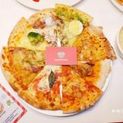 林口美食|ALWAYS PIZZA~平日只要359元起就有披薩、義大利麵、炸雞、沙拉、湯品、飲料無限吃到飽