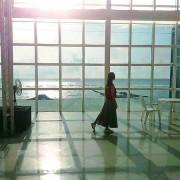 【旅遊】台南南區「黃金海岸方舟」好夢幻!光影建築迎夕陽、沙灘戲水追藍天