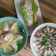 中壢青埔美食-早點上學,不只小卷鍋燒麵吸睛!鯛魚麵跟料多好吃的歐姆蛋還有特製鮪魚也不能錯過!