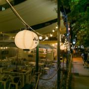 中壢老溪街調酒美食-純白的小溪道Creek,以潺潺溪水與夏末夜色佐酒的露天小酒吧