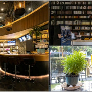 台中烏日,彩色曼陀羅咖啡,店內氣氛佳,還有美拍巨大書架。 - 微笑Joe幸運