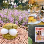 台北美食|賣司康的漂亮姊姊,google 評價5顆星,國父紀念館附近的外帶司康小店「Ruby's」