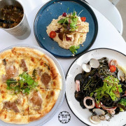 Giocoso pasta&cafe,台中精誠商圈韓系質感咖啡廳/ig網美必拍早午餐義式餐廳 - Cyndi loves享食天堂