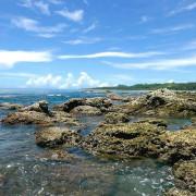 台東親子景點【富山漁業資源保育區】帶孩子探索海洋世界,看見難得一見的生物,觀賞美麗的自然生態,用海藻饅頭餵食海中生物,來場親密互動喔!