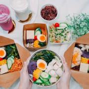 【台中西屯 美食】咕蔬搖-新概念舒肥鹹水雞(黎明店)。低溫舒肥雞胸健康餐盒外帶,八種蔬果一次攝取,營養均衡
